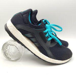 Adidas Pureboost X BLACK BLUE 5.5 AQ6681